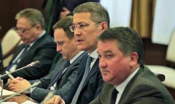 Хабиров провел оперативное совещание