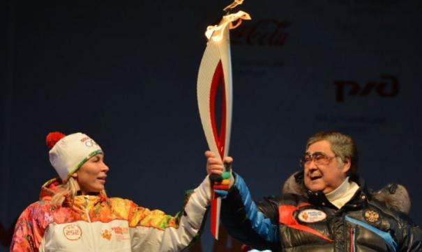 Эстафета олимпийского огня в 2014 году для Натальи Шиве была очень почетным делом