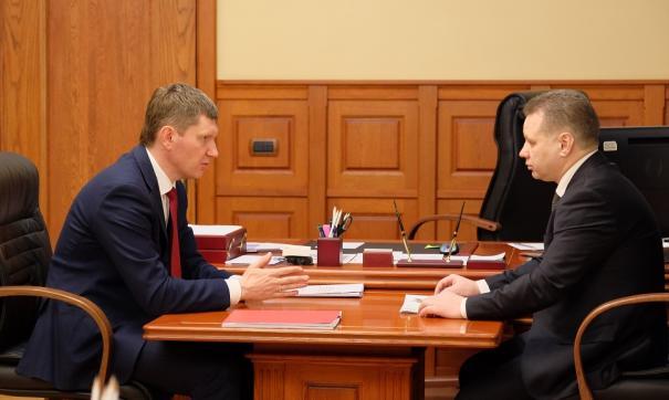 Встреча с Афанасьевым стала первой из восьми запланированных с главами объединившихся в 2018 году муниципалитетов