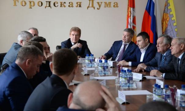 Встреча Елистратова с депутатами прошла в закрытом режиме