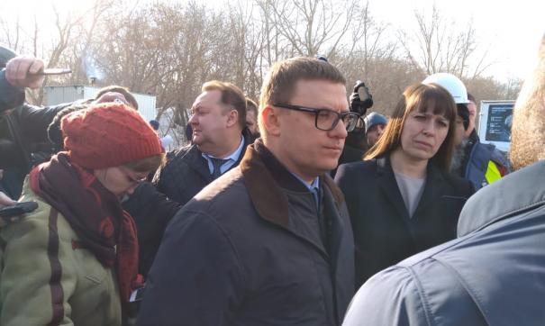 Алексей Текслер прибыл в Коркино