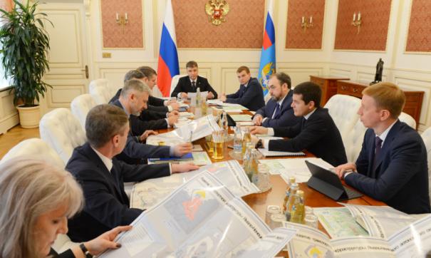 На встрече обсуждался и такой важный для России проект, как Северный широтный ход-2
