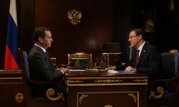 Губернатор обратился к председателю правительства за поддержкой по ряду важных для региона направлений