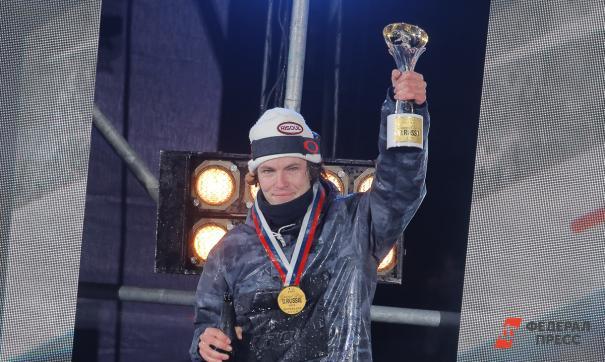 Француз Конийненбер выиграл этап мирового тура по сноуборду Grand Prix de Russie в Москве