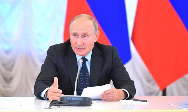 Владимир Путин подписал два новых закона