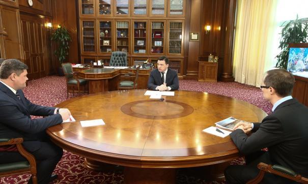 Губернатор провел встречу с Романом Терюшковым и Денисом Лебедевым