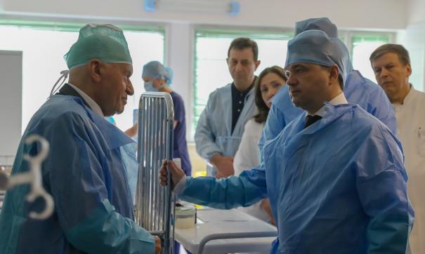 Губернатор и кардиохирург договорились улучшить медицину в Подмосковье