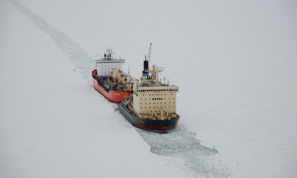 В Приморье будут строить сверхмощный атомный ледокол «Лидер»