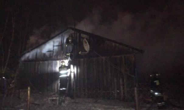 Пожар в Ноябрьске