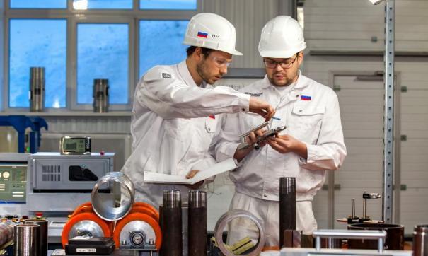 Площадка расположена в Финишном центре по производству труб нефтяного сортамента ПНТЗ
