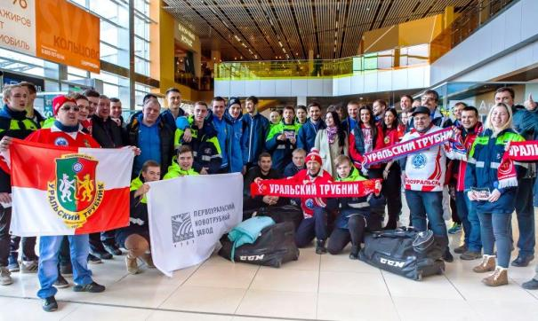 «Уральский трубник» обыграл в хоккее с мячом команду «Байкал-Энергия»