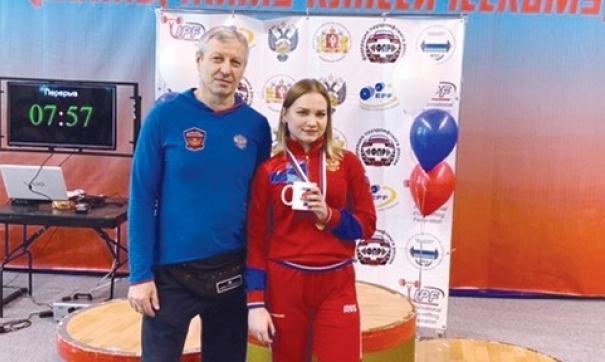 После соревнований Надежда вошла в сборную России