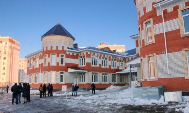 Детский сад строят по поручению президента