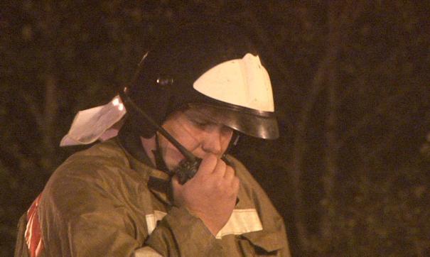Ночью на Комендантском проспекте сгорели сразу три иномарки