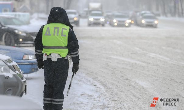 В Архангельске нетрезвый мужчина напал на сотрудника ГИБДД