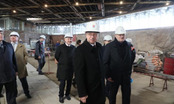 Беглов: станцию метро «Академическая» откроем к 1 июля