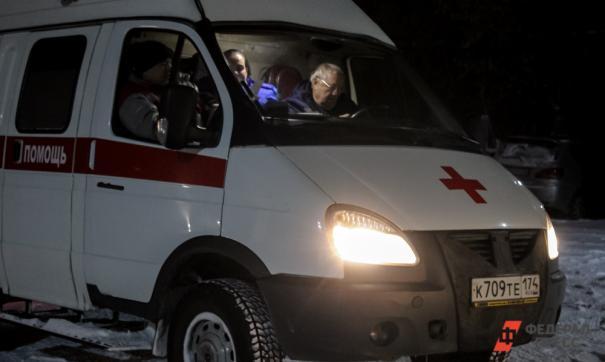 В Петербурге женщине бензопилой порезало ногу