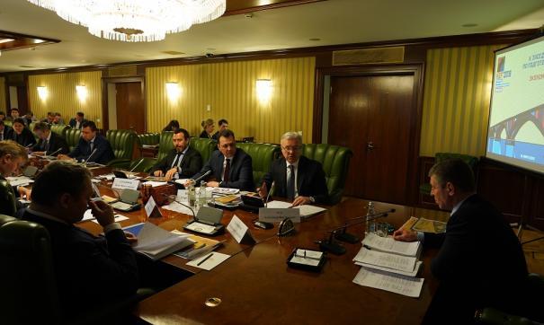 Заседание оргкомитета КЭФ