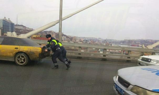 Владивостокские гаишники совершили нетипичный для профессии поступок