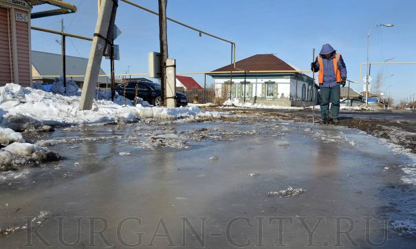 Микрорайоны Кургана готовят к приходу большой воды