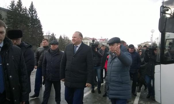 Полпред президента Цуканов собрал губернаторов в УрФО
