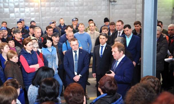 Алексей Варочко отметил, что заводу стоит расширить ассортимент