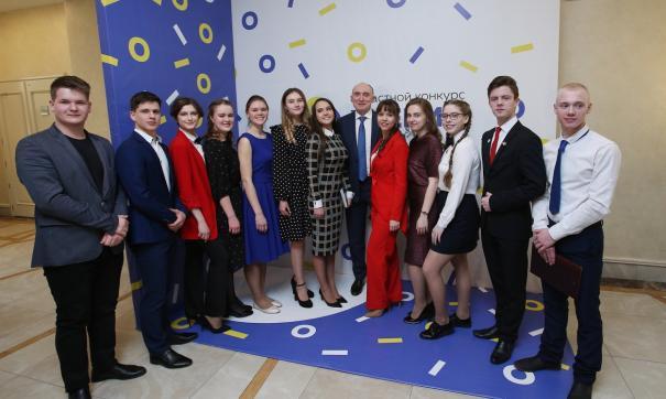 Конкурс «Ученик года» проводится с 2012 года