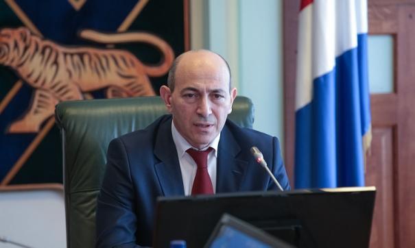 Гагик Захарян уходит из администрации Приморья