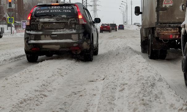 На расчистку дорог Сургута выделена вся снеугоборочная техника