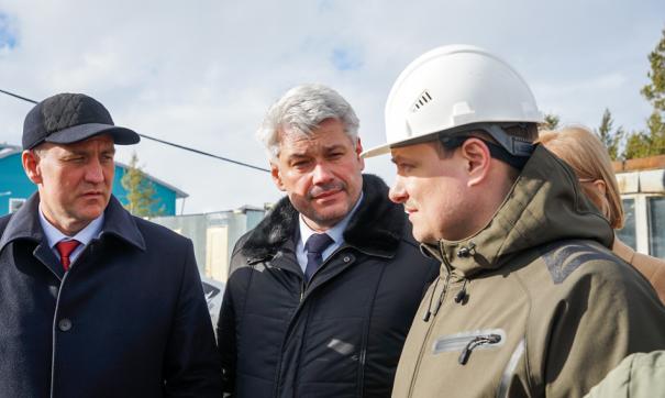Глава Сургутского района посетил Нижнесортымский