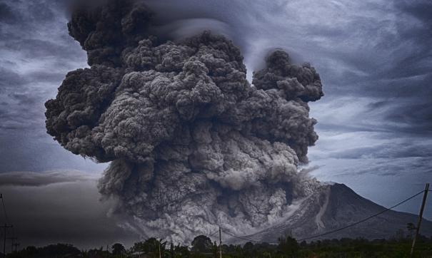 МЧС выпустило предупреждение об «оранжевом» коде авиационной опасности в связи с вулканической активностью.