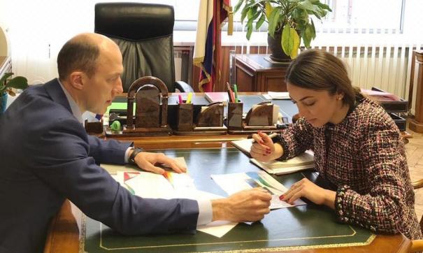 Олег Хорохордин провел первую рабочую встречу с главой Федерального агентства по туризму Зариной Догузовой