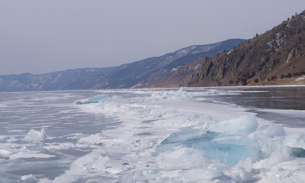 Съемки клипа проходили на Байкале в 30-градусный мороз