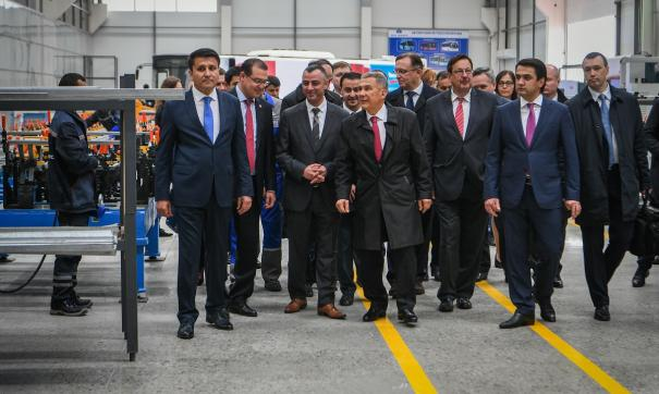 Минниханов прибыл в Таджикистан с рабочим визитом