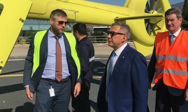 Минниханов прибыл с рабочим визитом во Францию