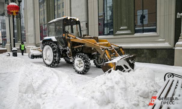 С начала года из Уфы уже вывезли 2,3 миллиона кубометров снега