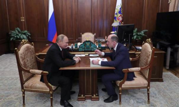 Владимир Путин назначил Олега Хорохордина врио главы республики Алтай