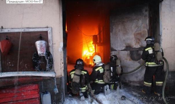 Пожару присвоена третья категория сложности