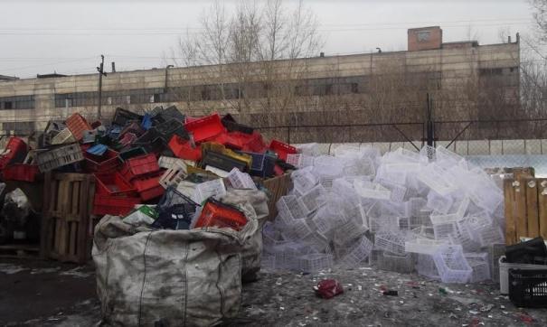 До некоторых районов Красноярского края мусорная реформа так и не добралась