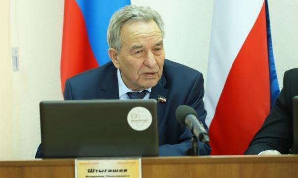 Владимир Штыгашев хочет быть политиком номер один в регионе