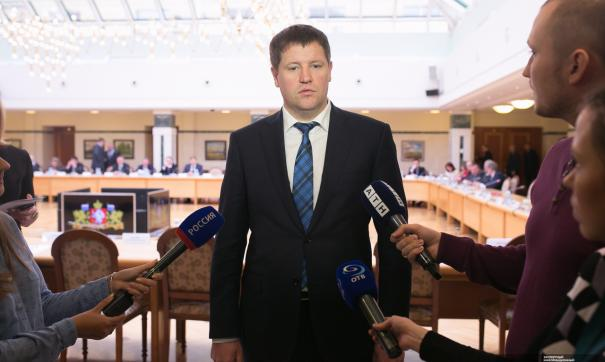 Сергей Бидонько пообщался со СМИ