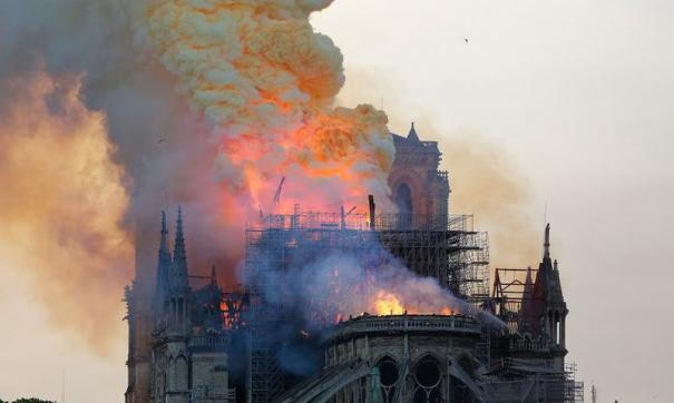 Главный архитектор реставрации заявил, что к моменту возгорания рабочих не было на площадке