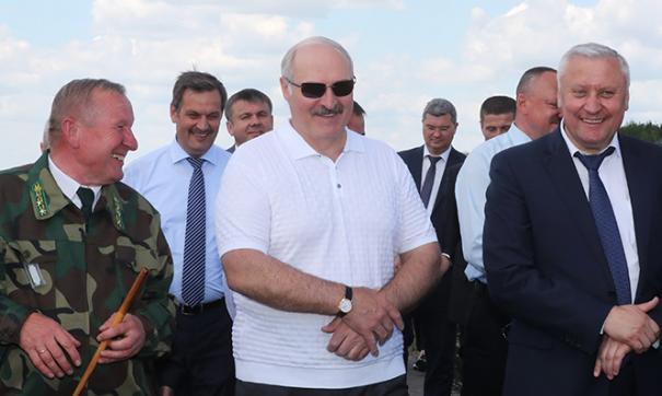 Лукашенко отметил, что у него сложились теплые отношения с турецким лидером
