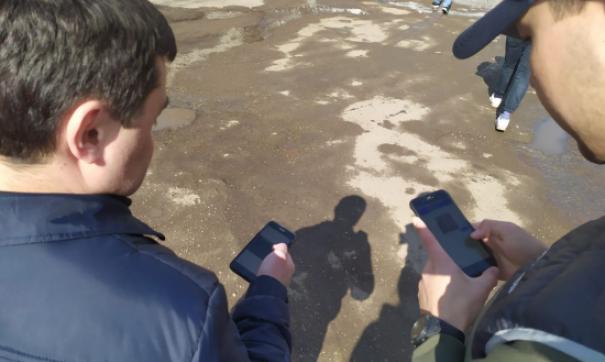 В Башкирии приступили к ямочному ремонту