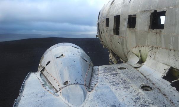 В самолете находились всего три человека