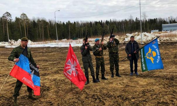 Похороны добровольна Донбасса