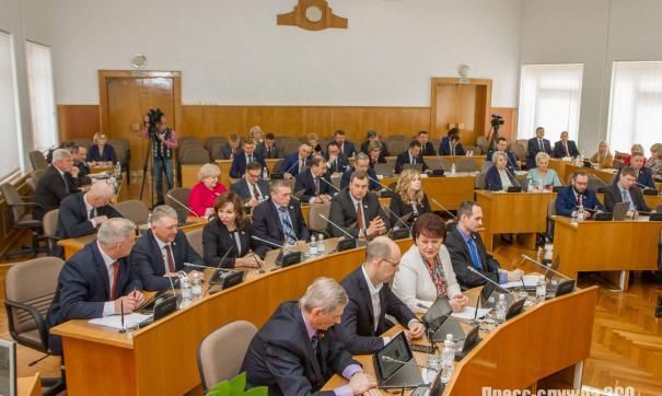 Палата в новом составе будет работать три года