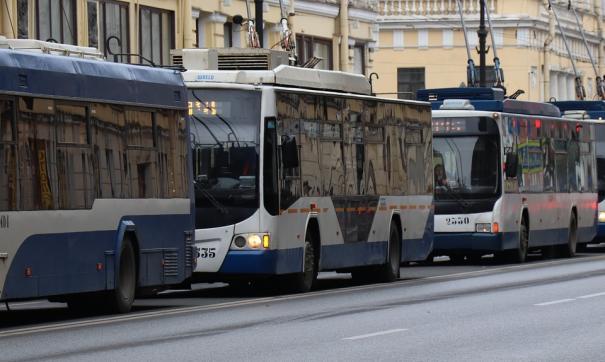 Всего будет срезано более 43 километров троллейбусных путей