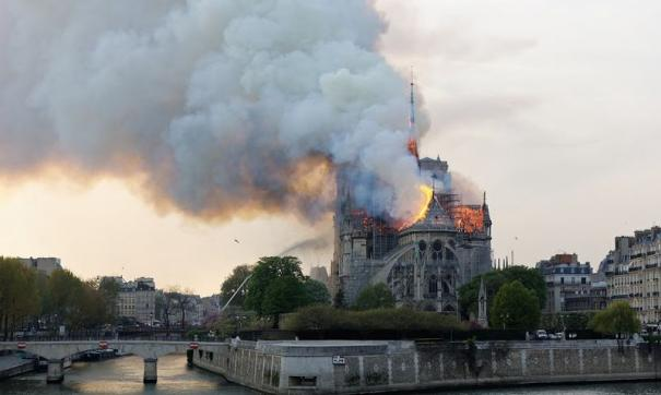 Для реставрации собора будут использоваться лазерные 3D-сканы