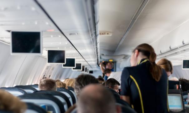 Дизайнер припомнил случай, произошедший в самолете
